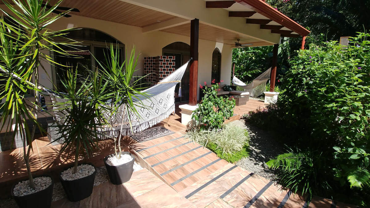 Terrace with Hammocks Deluxe Double Room