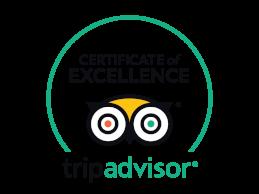 Certificado de excelencia de TripAdvisor 2015