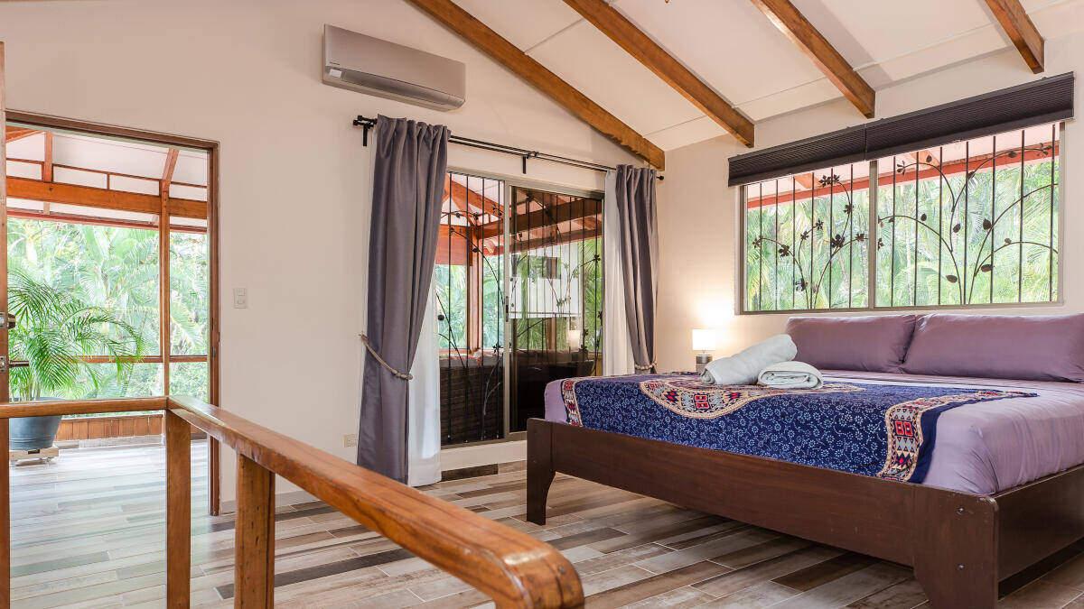 Bedroom Junior Suite Jardin de los Monos, Hotel in Matapalo Costa Rica
