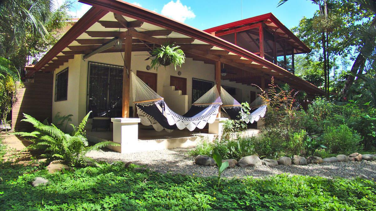 Garden view Double Room Jardin de los Monos, Hotel in Playa Matapalo Costa Rica