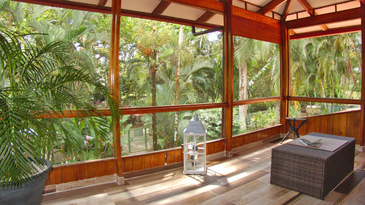 Canopy view Junior Suite at Jardin de los Monos, Hotel in Matapalo